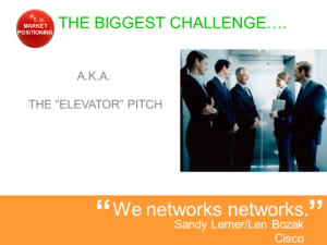 Network Pitch